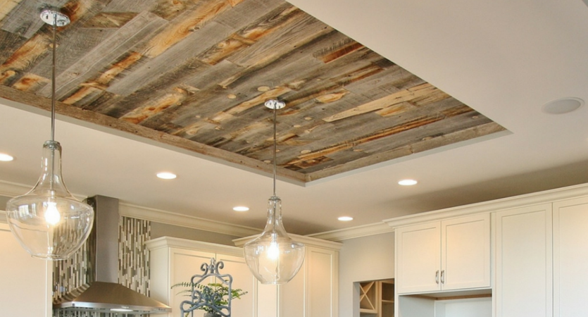 Reclaimed Wood Remodel